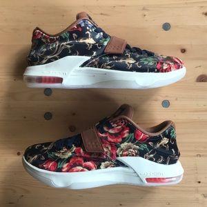 "Nike KD 7 EXT QS ""Floral"" US M 9.5"